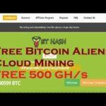 ET Hash | Free Bitcoin Aliens Cloud Mining - FREE 500 GH/s