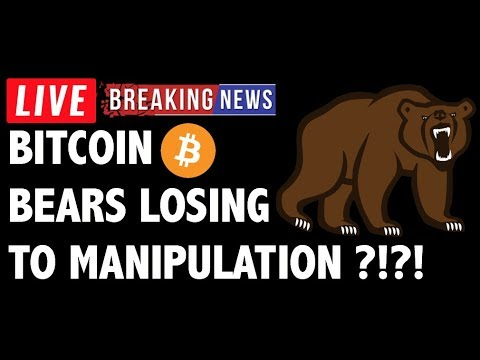 Are The Bitcoin (BTC) Bears Losing to Manipulation?! - Crypto Trading & Cryptocurrency News