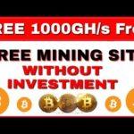 0.1Bitcoin Eran !! Bast mining site no investment for ztadvise