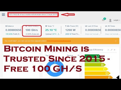 MinerFarm | Bitcoin Mining is Trusted Since 2015 - Free 100 GH/S