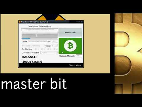 GET FREE BTC with Bitcoin Mining Software