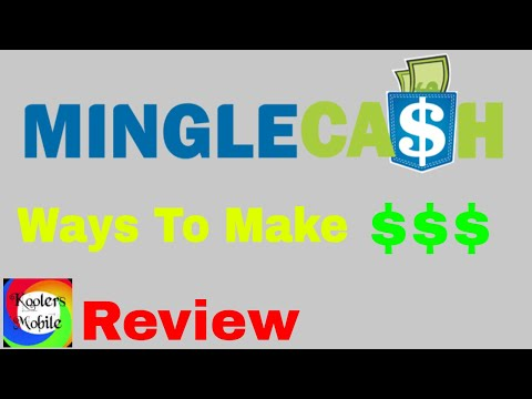 Mingle Cash - MingleCash Review - Ways to make money online