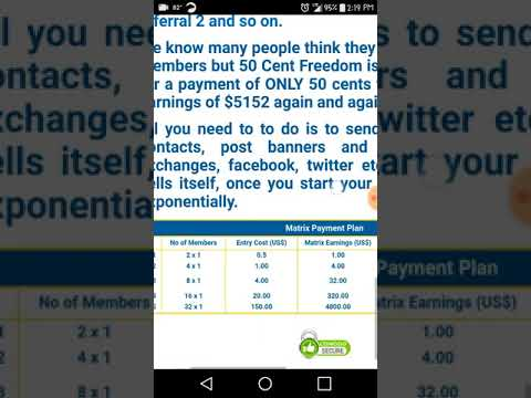 How to make money online: 50 Cent Freedom - 8 Paid for accounts Available!