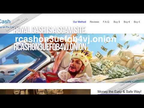 Preshredded cash sellers on dark web are all scam sites. They will steal your Bitcoin