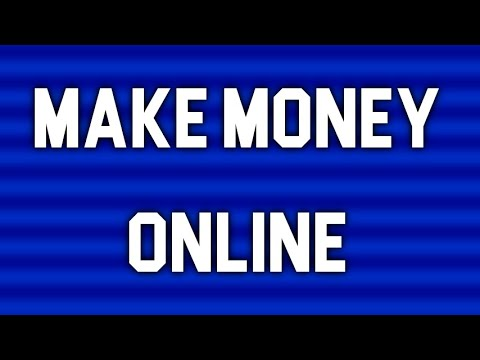 What Can I do Online to Make Money - Here Some Simple Ways...