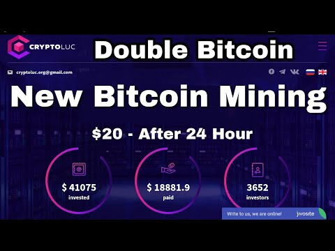 New Bitcoin Cloud Mining 2018| CryptoLuc.org Review | 200% PROFIT Daily | Highest Paying Website