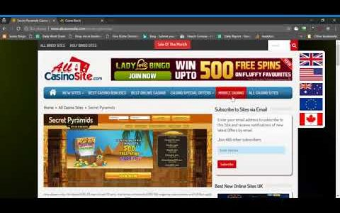How to make money online through play online games at Secret Pyramids Casino1.mp4