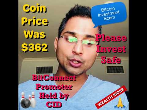 Bitcoin Investment Scam - BitConnect