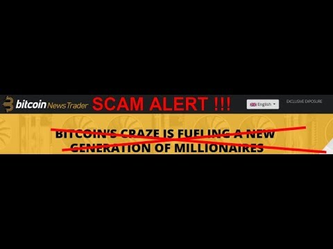 Bitcoin News Trader Review!SCAM ALERT!!!