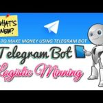 New Bot Telegram I Logistic Minning I Deposit and Get Bitcoin I investments site