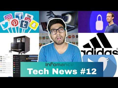 Tech News #12 Flipkart Walmart, Facebook, Bitcoin scam, Android message, Apple Store china, Adidas
