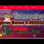New Bitcoin Mining || Btconly || Signup Bonus 0.00050000 Free  2018