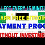 EARN FREE BITCOIN COLLECT EVERY 15 MINITUES PAYMENT PROOF FACUETHUB (WITHOUT INVESTMENT)