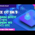 Bitmed Cloud : New Bitcoin Cloud Mining 2018 (Free 100 Gh/s)