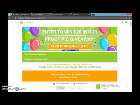 HOW TO REGISTER AND MAKE MONEY ONLINE -LEVEL REWARDS PT2