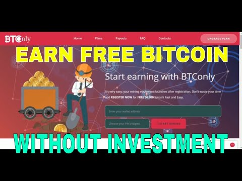 NEW BITCOIN MINING (WITHOUT INVESTMENT)