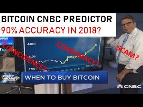 Bitcoin CNBC Predictor with 90% Accuracy in 2018 - CONSPIRACY, SCAM OR COINCIDENCE?