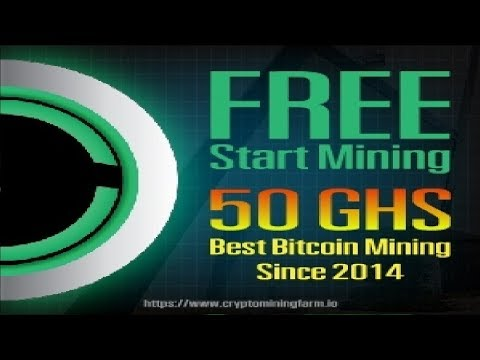 Best Bitcoin Mining Since 2014 - Free Start Mining 50 GHS