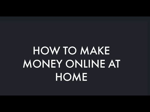 how to make money online complete