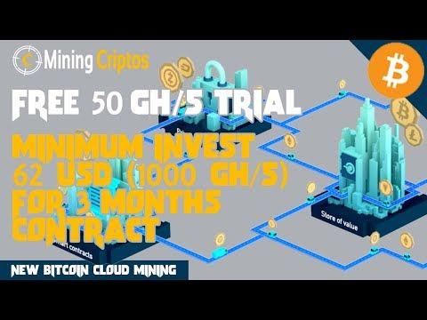 Mining Criptos : New Bitcoin Cloud Mining 2018 (Free 50 Gh/s Trial)