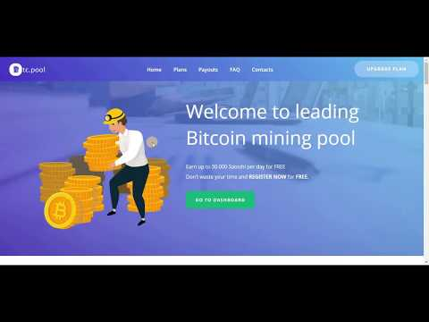 New Bitcoin  Auto Mining Sites   Auto Earn 30000 Satoshi Daily   Without Investment free site