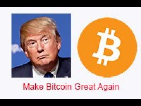 Bitcoin(BTC), is Donald Trump making it great again?