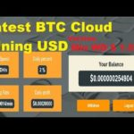 Latest BTC Cloud Mining USD version – Min WD $1.5