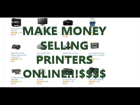 How To Make Money Online Selling Printers