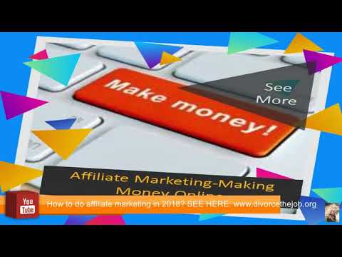 How to do affiliate marketing 2018 - How to make money with affiliate marketing 2018 (100% free)