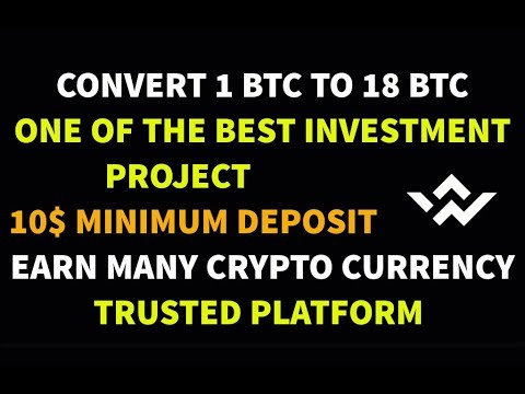HOW TO MAKE MONEY ONLINE - TRUSTED INVESTMENT SITE - 1 BTC CONVERT TO 18 BTC - WITH COINS WORLD
