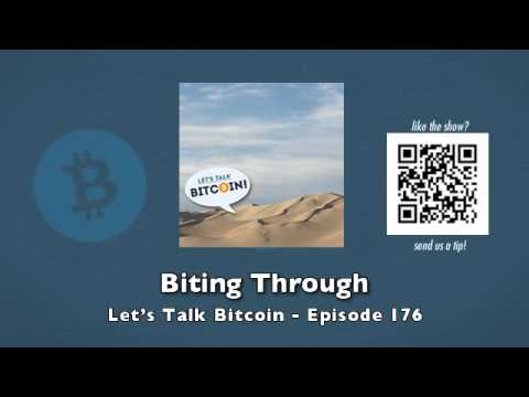 Biting Through – Let's Talk Bitcoin Episode 176