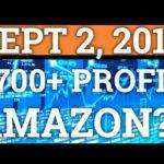 $700+ PROFIT DAY TRADING BITCOIN! AMAZON BLOCKCHAIN? BTC, BITMEX LEVERAGE + CRYPTOCURRENCY NEWS 2018