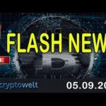 Flash News / News Bitcoin – Blockchain und Co.