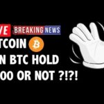 Can Bitcoin (BTC) Hold The 6000 Level?! – Crypto Market Technical Analysis & Cryptocurrency News