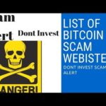 List of scaming bitcoin Website|Top 5 scam Bitcoin&cloud mining SItes|