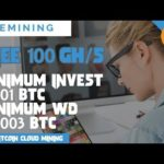 FiveMining : New Fresh Free Bitcoin Cloud Mining 😍 (Free 100 Gh/s)