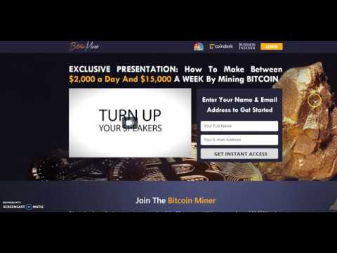 Bitcoin Miner Review, Fake Bitcoin Miner SCAM? Yes, Proof and Facts!