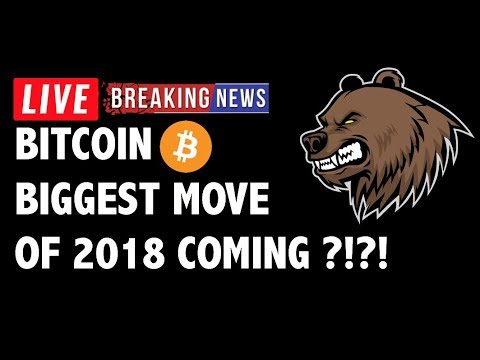 Biggest Move of 2018 to Hit Bitcoin (BTC)?! - Crypto Market Technical Analysis & Cryptocurrency News