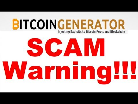 Bitcoin Generator Review - BTC Generator SCAM Exposed (See Why)