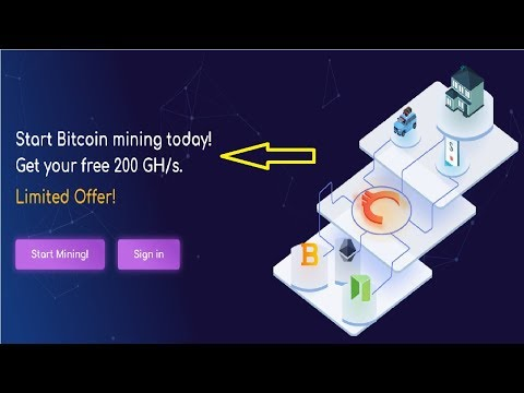 NEW Bitcoin mining! Get free 200 GH/s - Limited Offer!