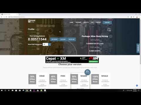 Mining Bitcoin GRATIS..! di Web Minestore.io legit or Scam!!!