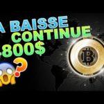 BITCOIN 4800$ DEJA AU RENDEZ-VOUS !!!??? btc analyse technique crypto monnaie