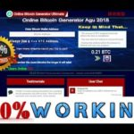 Bitcoin Generator 0.35 BTC Tested. 100% Working -  Noting Scam - %100 Real 17.09.2018