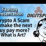 $ETN Electroneum Bitcoin -All Crypto A Scam ? What is Art?
