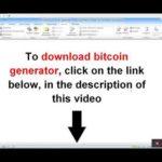 download bitcoin generator no fee, bitcoin mining 2018