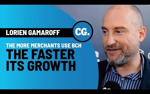 Lorien Gamaroff: Merchant adoption is going to drive crypto growth