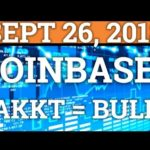 COINBASE NEW ALTCOINS? RIPPLE XRP? BAKKT = BULLS! BITCOIN TRADING + CRYPTOCURRENCY NEWS, PRICE 2018