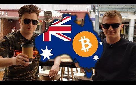 Bitcoin Coffee Run in Brisbane Australia with Jake Smith