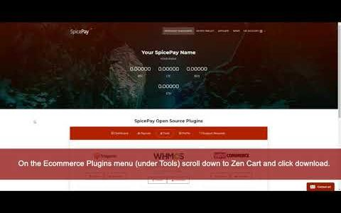 ZenCart Bitcoin Payment integration Tutorial – SpicePay