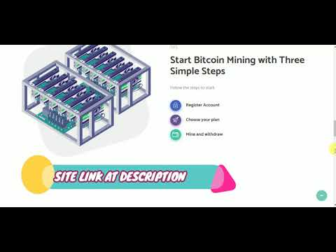 NEW BITCOIN MINING 200GHS FREE (WITHOUT INVESTMENT)